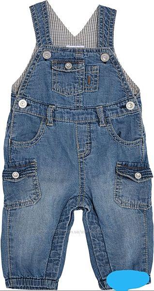 джинсовый комбинезон Chicco