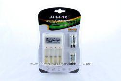 Комплект Зарядное устройство с 4-мя АКБ микропальчик тип ААА Jiabao JB-212A