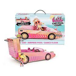 Кабриолет кукла LOL Surprise Car Pool Coupe. Машинка лол