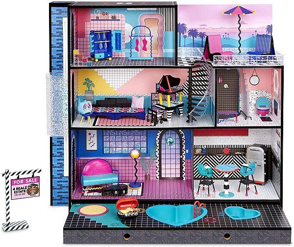 Особняк, деревяний дом лол 570202 Real Wood Doll House with 85