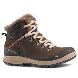 Женские зимние ботинки WARM WTP - SH500 X-WARM - MID QUECHUA