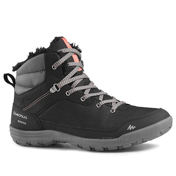 Женские зимние ботинки SH 100 QUECHUA