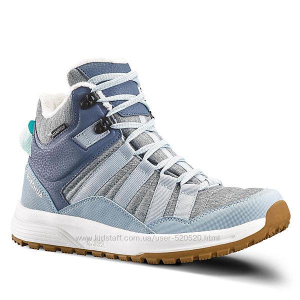 Женские спортивние ботинки  SH100 X-WARM - MID QUECHUA