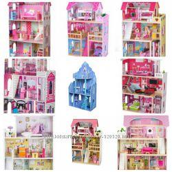 Кукольний деревяний домик Eco-toys, Frozen