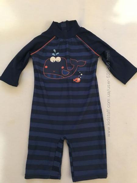 Купальный солнцезащитный костюм 1-2 года