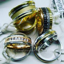 Обручальные кольца, большой выбор, приятные цены