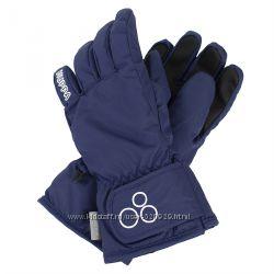 Перчатки Huppa Rixton зимние с утяжкой на липучках 7-9 лет