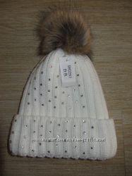 Зимняя шапка, Германия. с закотом. со стразами
