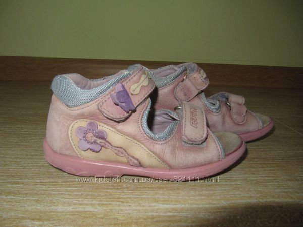 Ricosta Pepino босоножки 26р. кожа Германия сандалии босоніжки для девочки