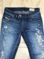 Diesel Италия 25/26 32 джинсы рваные джинси штаны брюки штани. Оригинал. Sli