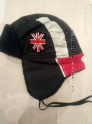 Замечательная зимняя теплая шапочка David&acutes star 50-52