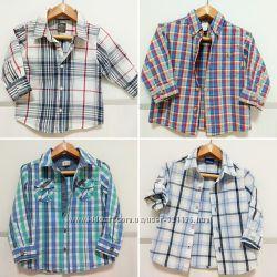 Фирменная рубашка с длинным рукавом H&M Cherokee F&F Dept на 1-4 года