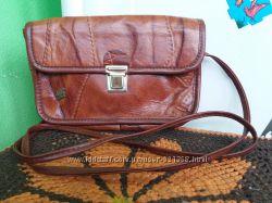 fea7efe1c291 Шикарная винтажная кожаная сумка кроссбоди Okay Sac кожа, 260 грн ...