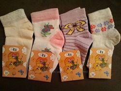 Носочки для девочки, 12 размер