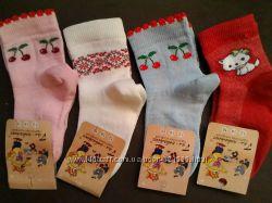 Носочки для девочек, 16 размер