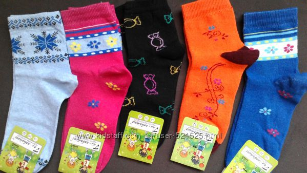 Носочки для девочек, 22 размер