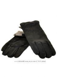 Мужские перчатки, оленья кожа, Holms
