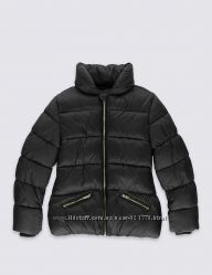 Теплые демисезонные куртки для девочек Marks & Spencer, 7-8, 9-10, 11-12лет