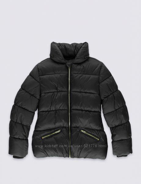 Теплые демисезонные куртки для девочек Marks & Spencer, разм. 9-10 лет