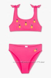 Яркий купальник для девочки от c&a, рост 92-128см