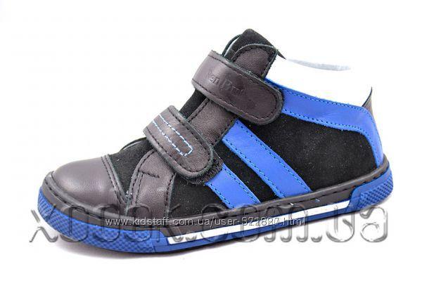 Демисезонные кожаные ботинки Renbut, р. 36