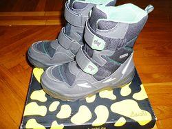Зимние ботинки Lurchi Salamander в отличном состоянии, стелька 20см