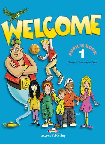 WELCOME 1 2 3 starter Учебники Английский