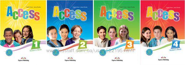 ACCESS 1, 2, 3, 4  Учебники Английский