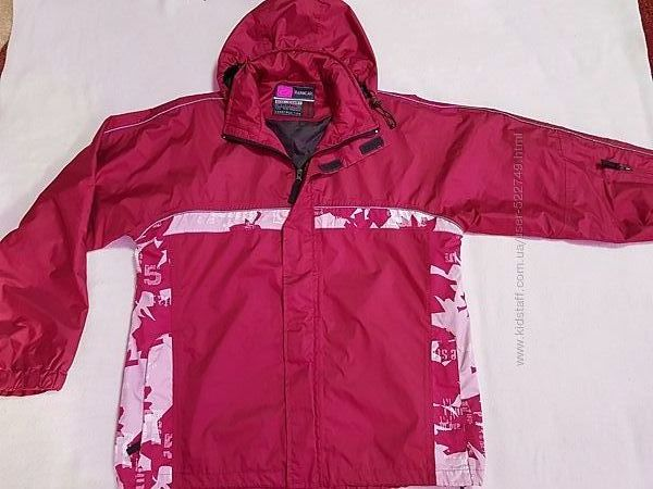 Женская куртка ветровка, не продуваемая, качество, цвет темной фуксии