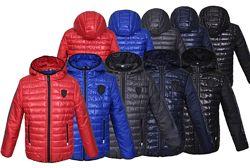 Детская демисезонная куртка для мальчика Порше. Размеры с 34 по 46.