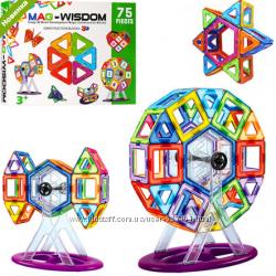 Магнитный конструктор MAG-WISDOM KB04116 75 деталей