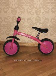 Крутой велобег для девчушки