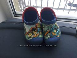 Crocs Croslite superman, кроксы