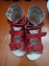 Босоножки о-121 лечебные, детская ортопедическая обувь, стелька - 21 см