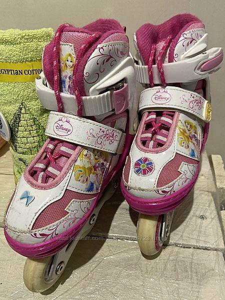 Ролики Disney princess для девочки