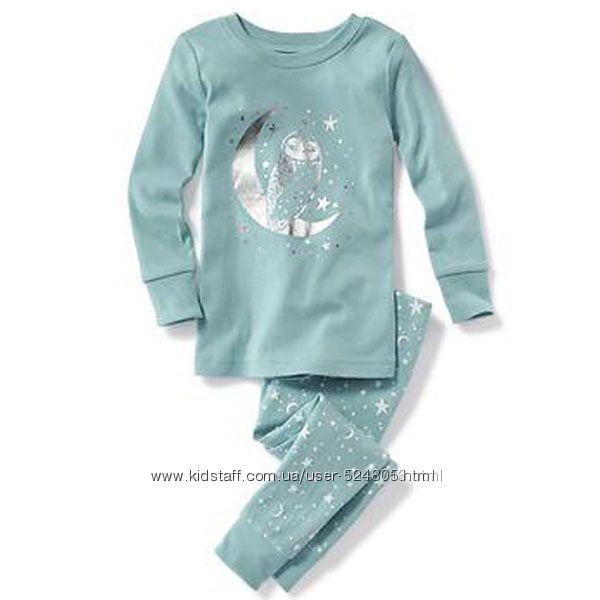 Хлопковые пижамки OLD NAVY и Carters 3Т, 4Т, 5Т