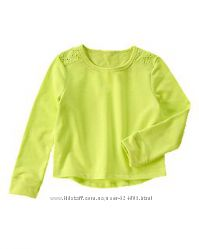 Свитшот лимонного цвета crazy8 на девочку р. s 5, 6 лет рост 114. 5-122 см