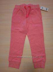 Розовые брюки OSHKOSH на 5 лет на рост 105-111 см