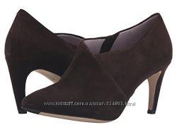 Новые коричневые замшевые ботинки, ботильоны Johnston & Murphy