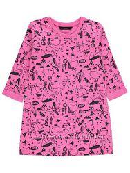 Платье с принтом собачек  george на 3-4 и 4-5 лет рост 98-104- 110см