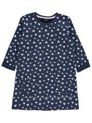 Платье трикотажное  georgе на 4-5 и 5-6 лет рост 104- 110-116 см