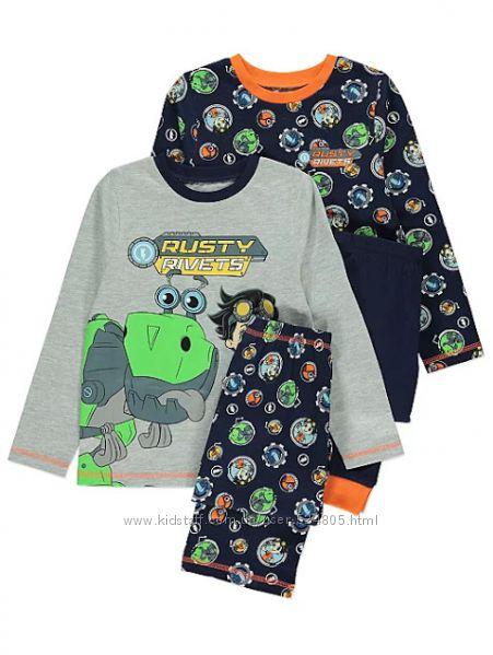 Пижамы на мальчиков Rusty Rivets на 6-7 лет рост 116-122 см