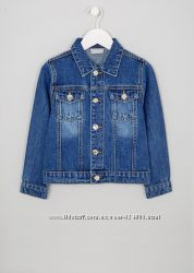 Джинсовый пиджак Matalan на девочку 6- 7лет рост 116-122 см