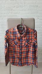 Крутая рубашка Tommy Hilfiger, оригинал 6 лет, 128 см