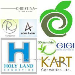 Holy Land, Christina, Anna Lotan, Onmacabim, Hikari -отправка косметики