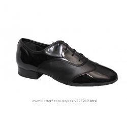 Туфли танцевальные мужской стандарт Club Dancе 92108