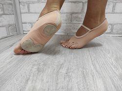 Обувь для контемпа на всю длину стопы