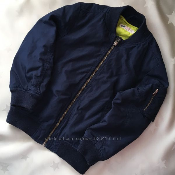Курточка H&M 5-6р.