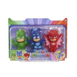 Just Play PJ Masks Squirters Bath Toy 3 Pack