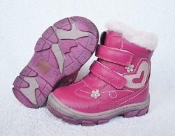 Ботинки сапожки зимние для девочки Bi&Ki